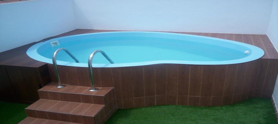 Piscina fibra segunda mano piscina de bestway cm redonda - Precio piscina poliester ...